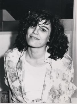 Ana Rico. Estudiante. Curso 1989-90, 1989