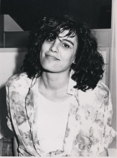 Ana Rico. Estudiante. Curso 1989-90
