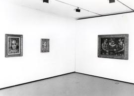Vista parcial de la exposición Georges Rouault, 1995