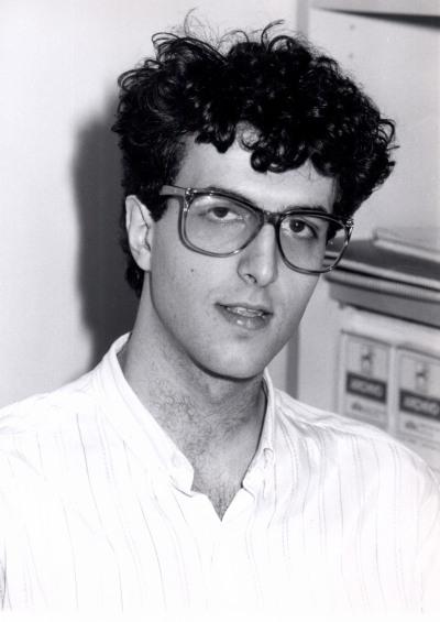 Ismael Sánchez. Profesor de curso. Curso 1989-90