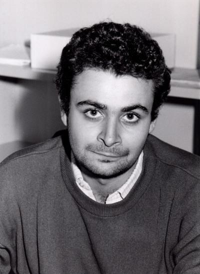 Ignacio Sánchez-Cuenca. Estudiante. Curso 1990-91
