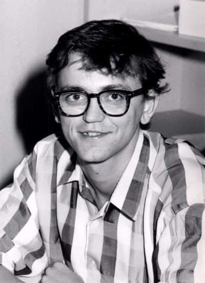 Víctor Francisco Sampedro Blanco. Estudiante. Curso 1990-91