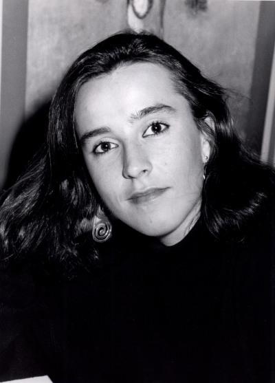 Pilar Blanco Rajoy-Fernández. Estudiante. Curso 1990-91
