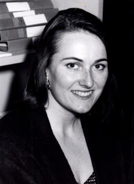 Patricia Craig. Profesora de seminario. Curso 1990-91, 1990