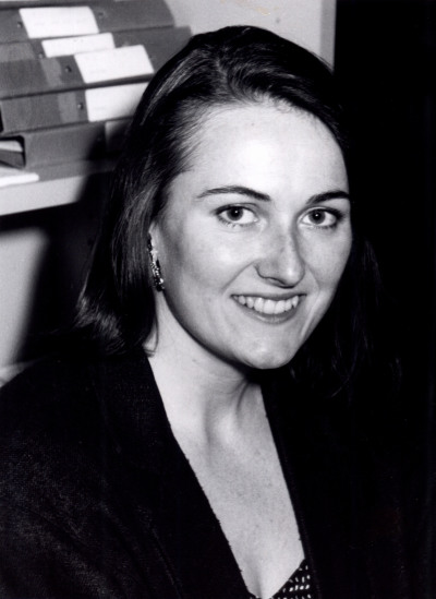 Patricia Craig. Profesora de seminario. Curso 1990-91