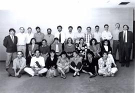 Acto de fin de curso del Centro de Estudios Avanzados en Ciencias Sociales (CEACS), 1991
