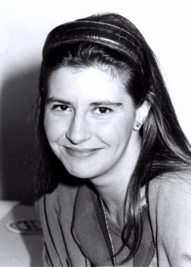 Susana Sanz Caballero. Estudiante. Curso 1991-92, 1991