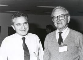 José María Mato y Joséph Larner. Workshop Role of Glycosyl-Phosphatidylinositol in Signaling, 1991