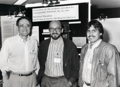 B. Burr, Pere Puigdomenech y Luis Herrera-Estrella. Workshop On the past and the future of Zea Mays