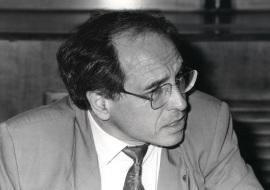 José Álvarez Junco. Profesor de seminario. Curso 1991-92, 1992