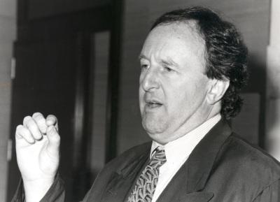 David Soskice. Profesor de seminario. Curso 1991-92