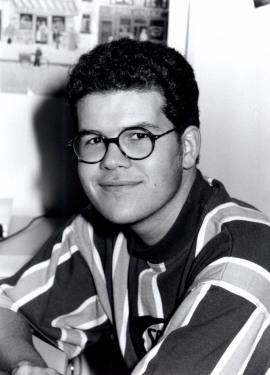 Javier Astudillo. Estudiante. Curso 1992-93, 1992