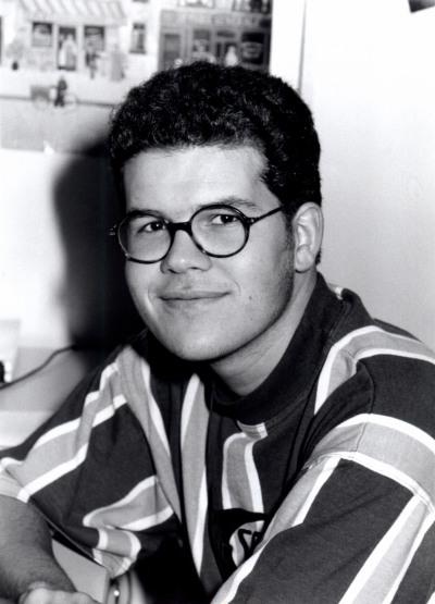 Javier Astudillo. Estudiante. Curso 1992-93