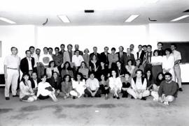 Acto de fin de curso del Centro de Estudios Avanzados en Ciencias Sociales (CEACS), 1992