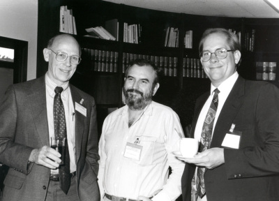 Daniel S. Longnecker, Manuel Perucho y Tony Hollingsworth. Workshop On Cell and Molecular Biology of Pancreatic Cancer