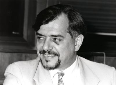 José Alvaro Moises. Profesor de seminario. Curso 1992-93