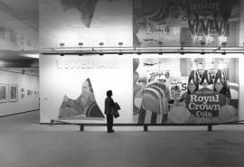 Vista parcial de la exposición Tom Wesselmann, 1996