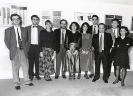 Acto de fin de curso del Centro de Estudios Avanzados en Ciencias Sociales (CEACS), 1993