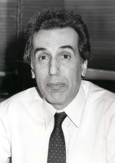 Nikiforos Diamandouros. Profesor de seminario. Curso 1992-93
