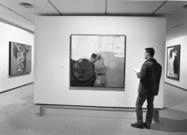 Vista parcial de la exposición Arte español contemporáneo Colección de la Fundación Juan March, 1996