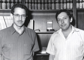 Carl Nathan y Antonio Celada. Workshop On Molecular Mechanisms of Macrophageb Activation, 1993
