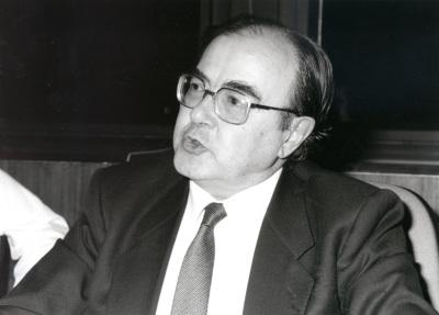 Miguel Beltran. Profesor de seminario. Curso 1993-94