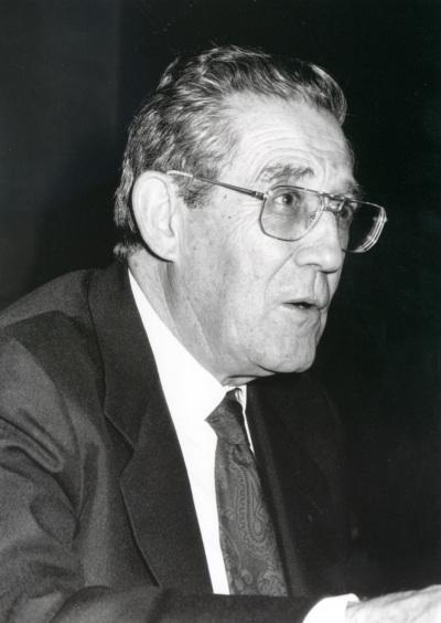 Francisco Rubio Llorente. Profesor de seminario. Curso 1993-94