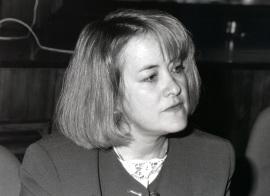 Nancy Bermeo. Profesor de seminario. Curso 1993-94, 1994