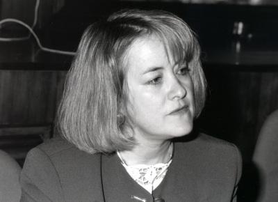 Nancy Bermeo. Profesor de seminario. Curso 1993-94