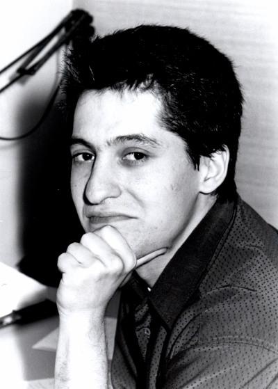 Santiago Pérez-Nievas. Estudiante. Curso 1994-95