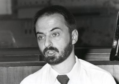 Arvid Lakauskas. Profesor de seminario. Curso 1994-95