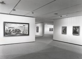 Vista parcial de la exposición Max Beckmann, 1997
