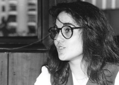 Pilar Gangas. Profesor de seminario. Curso 1994-95