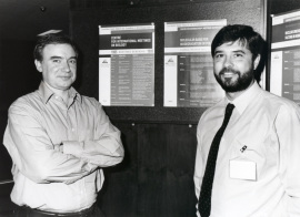Kenneth N. Timmis y Juan Luis Ramos Martín. Workshop Nuclear Oncogenes and Transcription Factors in Hematopoietic Cells, 1995