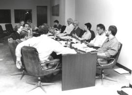 Otras actividades Reunión el Commitee on Western Europe del Social Science Research Conuncil y del American Council of Learned Societies, 1995