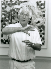 Kenneth Tyler. Exposición Frank Stella Obra gráfica 1982-1996. Colección Tyler Graphics de Nueva York., 1997