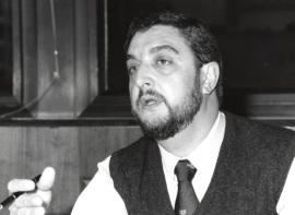 Jesús de Miguel. Profesor de seminario. Curso 1995-96, 1995