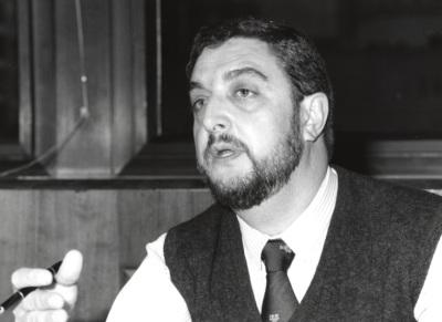 Jesús de Miguel. Profesor de seminario. Curso 1995-96