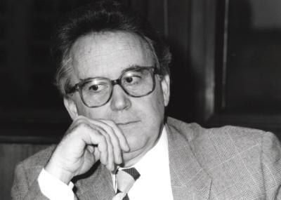 Santos Juliá. Profesor de seminario. Curso 1995-96