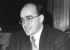 Alain Gagnon. Profesor de seminario. Curso 1995-96, 1995