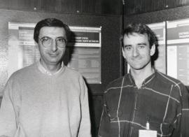 Juan Ortín Montón y Juan Valcárcel. Workshop From Transcript to Protein mR Processing, Transport and Traslation, 1996
