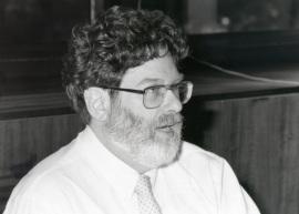 Robert Kaufman. Profesor de seminario. Curso 1995-96, 1996