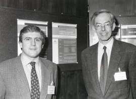 José López-Barneo y Kenneth Weir. Workshop Oxigen Regulation of Ion Channels and Gene Expression, 1996