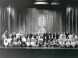 Acto de fin de curso del Centro de Estudios Avanzados en Ciencias Sociales (CEACS), 1997