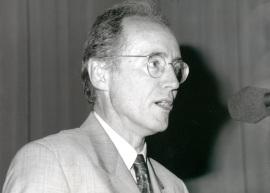 Miguel Beato. Seminario Biology at the Edge of Next Century, 1997