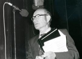 Cesar Milstein. Seminario Biology at the Edge of Next Century, 1997