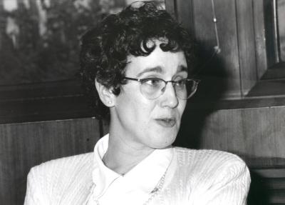 Ana Marta Guillen. Profesora de seminario. Curso 1996-97