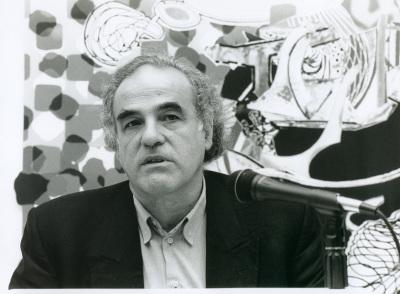 Valeriano Bozal en el curso sobre Conocimiento del Arte Contemporáneo