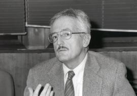 Marino Regini. Profesor de seminario. Curso 1997-98, 1997