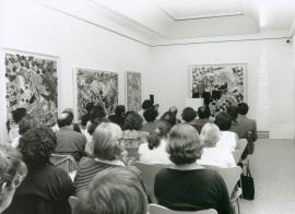 Valeriano Bozal en el curso sobre Conocimiento del Arte Contemporáneo, 1997